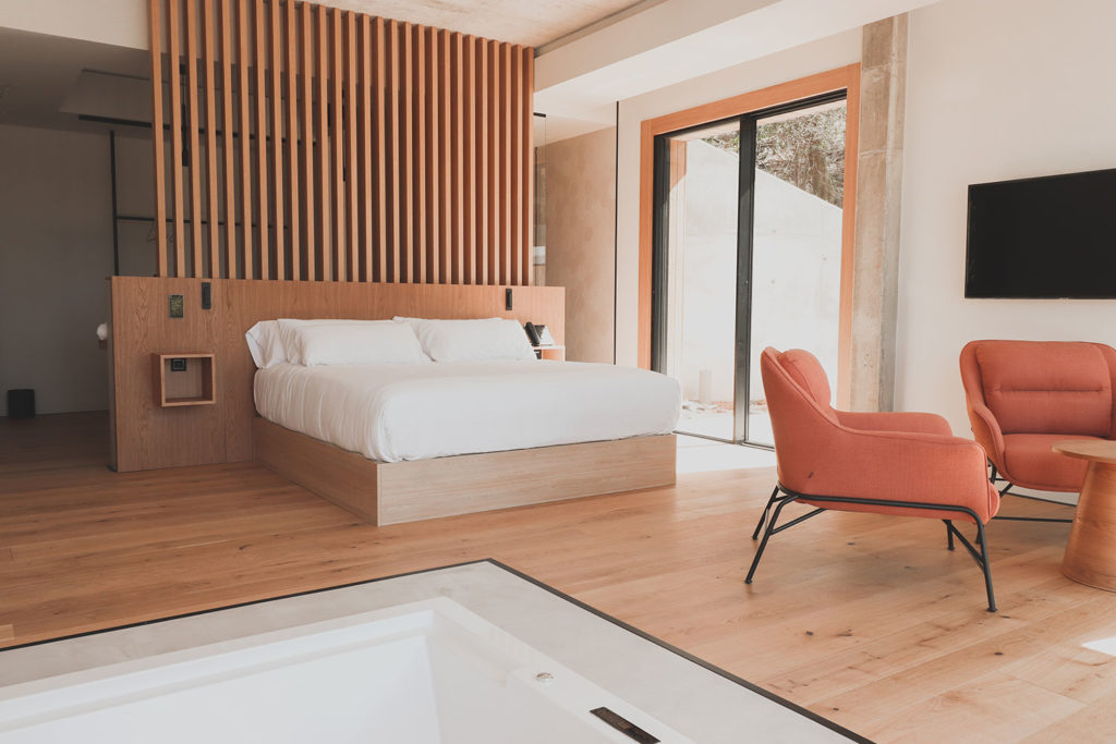 Suite Atmos Hotel - cama king size